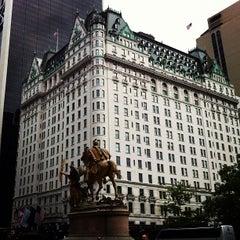 Photo taken at The Plaza Hotel by Jeffrey Z. on 7/29/2012