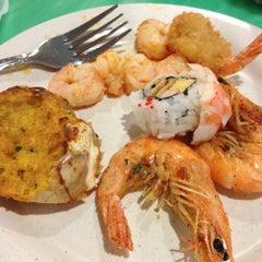 Photo taken at Sakura Seafood Buffet by Andy F. on 3/10/2012