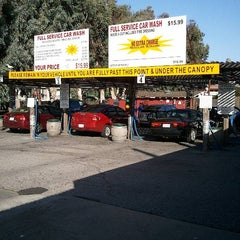 Photo taken at Lozano Brushless Car Wash by Chris L. on 5/11/2012