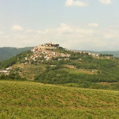 Photo taken at Motovun - Montona by Marinko J. on 6/7/2012
