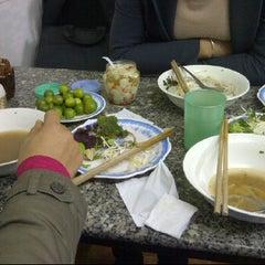 Photo taken at Bún bò giò heo Huế by Vinh N. on 2/13/2012