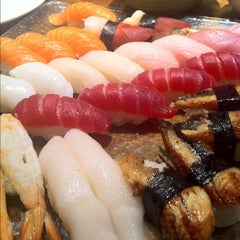 Photo taken at Sushi Palace by Hideki S. on 4/29/2012