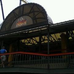 Photo taken at Iron Dragon by Aaron C. on 7/28/2012