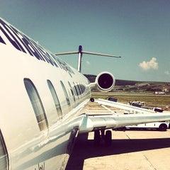 "Photo taken at Cluj-Napoca ""Avram Iancu"" International Airport (CLJ) by John-Paul on 8/4/2012"