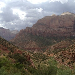 Photo taken at Emerald Pool Trail by Leonie M. on 7/29/2012