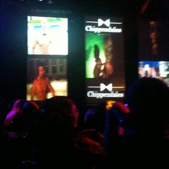 Photo taken at Chippendales Theatre at The Rio Vegas by Kat W. on 7/10/2012