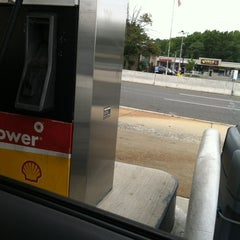 Photo taken at Shell by Melanie on 8/20/2012