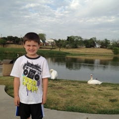 Photo taken at The Park at Josey Ranch Lake by Kimberly C. on 8/16/2012