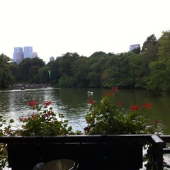 Photo taken at The Loeb Boathouse in Central Park by Denny T. on 8/11/2012