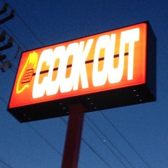 Photo taken at Cook-Out by Ashley on 5/8/2012