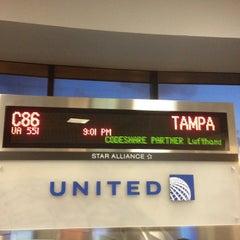 Photo taken at Gate C86 by David Justin W. on 8/27/2012