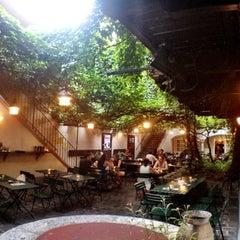 Photo taken at Amerlingbeisl by Leonardo G. on 8/20/2012
