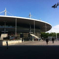 Photo taken at Stade de France by Camille G. on 7/16/2012