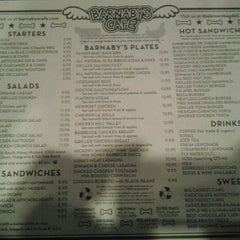 Photo taken at Barnaby's Cafe by Leo M. on 1/20/2012