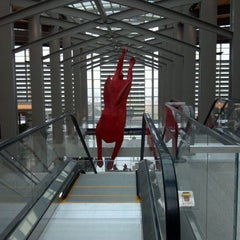 Photo taken at Central Terminal B / Landside by Abby F. on 1/20/2012