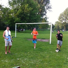 Photo taken at Erasmuspark by Sergio W. on 5/22/2012