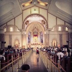 Photo taken at Minor Basilica of the Black Nazarene (Quiapo Church) by HolyKalag S. on 6/7/2012