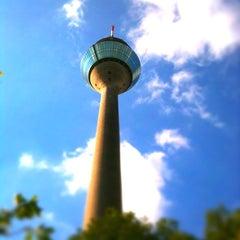 Photo taken at Rheinturm Park by Farruska on 5/4/2011