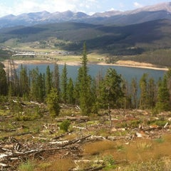 Photo taken at Sapphire Point Overlook by Wendy G. on 8/11/2012