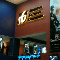 Photo taken at Golden Screen Cinemas (GSC) by Francis Ooi on 1/25/2012