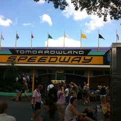 Photo taken at Tomorrowland® Speedway by Christopher K. on 9/24/2011
