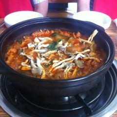 Photo taken at 옥산 백송식당 by Luke H. on 7/23/2012