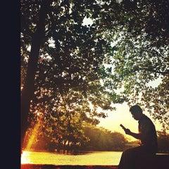 Photo taken at Bendung Gerak Mrican by Tri Gusti I. on 8/1/2012