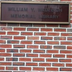 Photo taken at Wadleigh Memorial Library by Monica on 5/22/2012