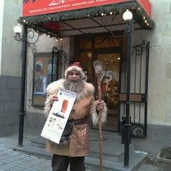 Photo taken at Artbridge Bookstore Café by Կաղանդ Պ. on 12/16/2011