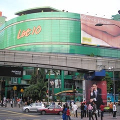 Photo taken at Lot 10 Shopping Centre by James M. on 9/1/2012