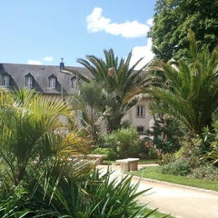 Photo taken at Jardin de la Retraite by Ingeborg S. on 6/10/2011