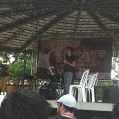 Photo taken at Praça Da Matriz by Mariana R. on 4/26/2012