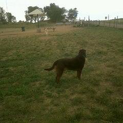 Photo taken at David Lorenz Dog Park by L'michele S. on 8/25/2011