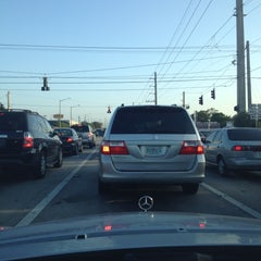 Photo taken at Intersection W Oakland Park Blvd & N Powerline Rd by Frank @. on 4/10/2012