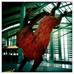 Photo taken at Central Terminal B / Landside by Angelica F. on 12/19/2011