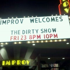 Photo taken at Improv Comedy Club by Edward P. on 12/24/2011