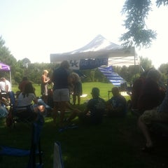Photo taken at Mamie D. Eisenhower Park by Pat P. on 8/25/2012