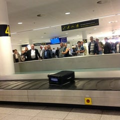 Photo taken at Bagageudlevering / Baggage Reclaim by C A. on 8/30/2012