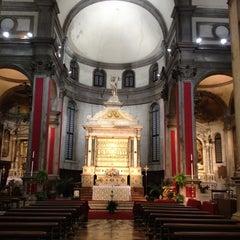 Photo taken at Chiesa di San Salvador by Natalino B. on 4/9/2012