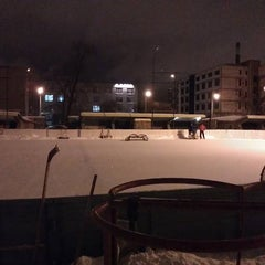 Photo taken at Каток by Anton K. on 2/20/2012