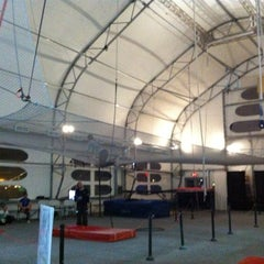 Photo taken at Trapeze School New York (TSNY) - Washington DC by Bri J. on 1/22/2011