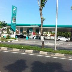 Photo taken at SPBU Petronas by Halim C. on 5/12/2012