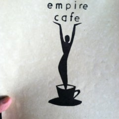 Photo taken at Empire Cafe by David on 11/25/2011