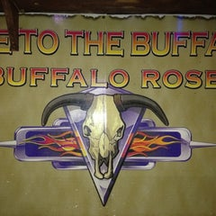 Photo taken at Buffalo Rose Saloon by Carl R. on 2/25/2012