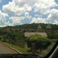 Photo taken at Termas de Jurema Resort Hotel by Wesley G. on 2/18/2012