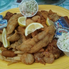 Photo taken at Margie and Rays Seafood Restaurant by Phil R. on 8/24/2011