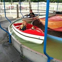 Photo taken at Memphis Kiddie Park by Kip J. on 9/2/2012