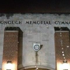 Photo taken at McDonough Gymnasium, Georgetown University by Teresa J. on 1/9/2012