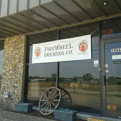 Photo taken at Firewheel Brewing Co. by Jonathan D. on 7/27/2012