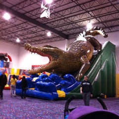 Photo taken at Jump!Zone - Niles by Stirling M. on 10/22/2011